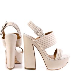 Mabelle - White Leather main view