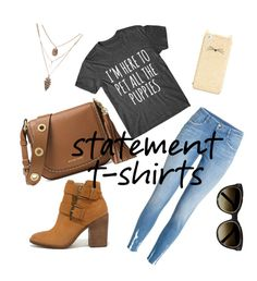 """Statement Made"" by bridgescrossed ❤ liked on Polyvore featuring H&M, Steve Madden, MICHAEL Michael Kors, Kate Spade and Chloé"