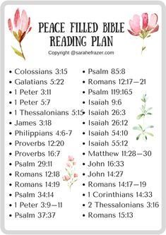 A Reading Plan for Peace - Life is mostly a mess! I prayed for peace and my house was still messy. Find peace through these Bible verses on peace. Bible Study Plans, Bible Plan, Bible Study Guide, Free Bible Study, Bible Reading Plans, Scripture Reading, Scripture Study, Quotes Arabic, Writing Plan