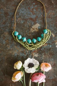 31 Bits necklace, eco-friendly & empowers women in uganda to rise above poverty!