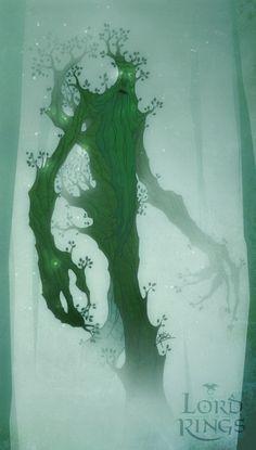Treebeard by levi-gomes.deviantart.com interesting tattoo idea for Grant