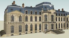 chateau | sketchup | 3D warehouse | Design | architecture