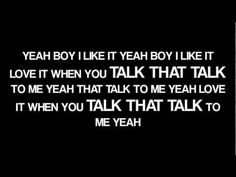 Rihanna - Talk That Talk ft. Jay-z (Explicit Version)