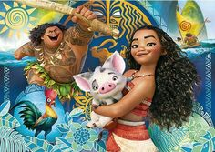 Disney's Moana and Pua