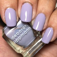 Deborah Lippmann Touch Me in the Morning Collection - The Polished Pursuit Deborah Lippmann Nail Polish, Touch Me, Airsoft, Nails, Beauty, Collection, Finger Nails, Ongles, Beauty Illustration