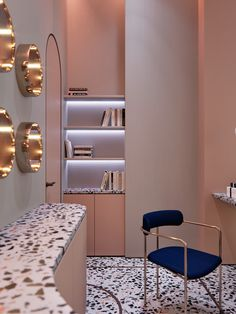 Living Room Bedroom Indoor lamp for Corridor Wall Light Pesaro in Gold Coloured Glass The Slits in The Shade Create a Light Effect on The Wall