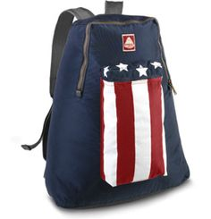 JanSport Heritage: 'Stars and Stripes' backpack - Handy for packing jackets, water bottles, flashlight, first aid kit, etc for the big night of fireworks! www.paragonsports.com/webapp/wcs/stores/servlet/ProductDisplay?productId=5083625=10551=10051=cj <> (July 4th, Independence Day)