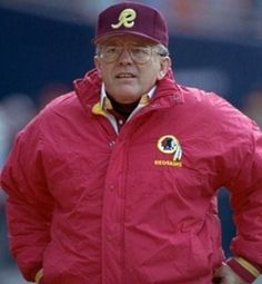 He won three Super Bowls. Was just so so and left again. If Joe had stayed and not bolted to NASCAR how many titles would Redskins have won? Redskins Football, Football Team, Nfl Coaches, Electric Football, Arena Football, Vince Lombardi, Washington Redskins, National Football League, Kansas City Chiefs