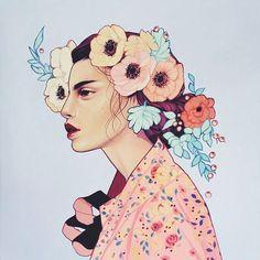 Spring by Kelsey Beckett @kelseyjbeckett #kelseybeckett #dcnart