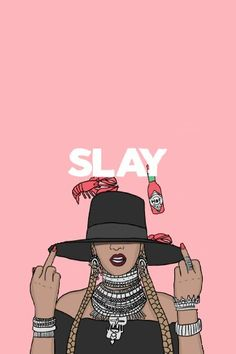 Beyonce phone background slay art