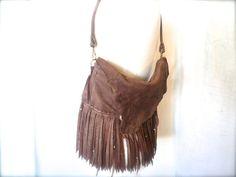 Callasonna  leather fringe purse custom fringe purse by ulantia, $218.79 #ulantia #leather #fringe #purse #handbag #clutch #elk #boho #antler