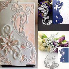 Bluelans Cutting Dies Stencil Metal Mould Template for DIY Scrapbook Album Paper Card Making Happy Birthday Cutting Dies