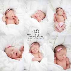 Newborn photos that are so relaxed and natural!