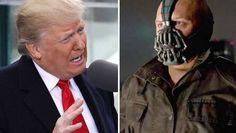 """Comparan el discurso de Donald Trump con el de Bane, villano de Batman  Una de las frases que pronunció el flamante Presidente de Estados Unidos se asemeja a lo pronunciado por el personaje de """"The Dark Knight Rises"""". http://www.clarin.com/mundo/comparan-discurso-donald-trump-bane-villano-batman_0_HyW02lgwl.html"""