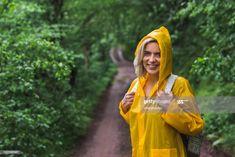 Happy Woman Backpacker In Raincoat On Country Road Photography #Ad, , #Sponsored, #Backpacker, #Woman, #Happy, #Raincoat Road Photography, Business Powerpoint Presentation, Happy Women, Backpacker, Rain Jacket, Windbreaker, Raincoat, Country Roads, Woman