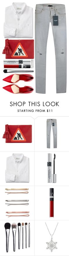 """""""#753 Amal"""" by blueberrylexie ❤ liked on Polyvore featuring Anya Hindmarch, Yves Saint Laurent, Christian Dior, Madewell, NARS Cosmetics and Bobbi Brown Cosmetics"""
