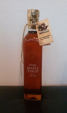 Items similar to Pure Wisconsin Maple Syrup Glass Bottle on Etsy Maple Syrup Bottles, Glass Bottles, Perfume Bottles, Pure Maple Syrup, Wisconsin, Pure Products, Awesome, Unique Jewelry, Handmade Gifts
