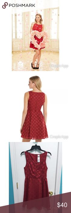 NWT Lauren Conrad Rock the Dots Minnie dress size4 NWT Lauren Conrad Rock the Dots Minnie dress size 4. This is from Lauren Conrad's Disney Collection. Brand new, never worn. So cute!! LC Lauren Conrad Dresses Midi
