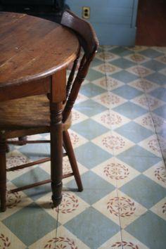 More favorite painted floors!