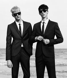 Benjamin Jarvis and Ashley Stymest for Topman SS13
