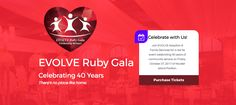 We're thrilled for you to check out our new Ruby Gala homepage. Take a look and register now! Help us celebrate 40 years on Oct. 27.