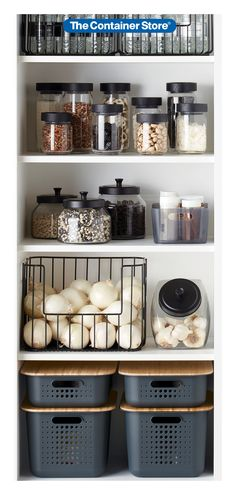 Easy pantry organization ideas.