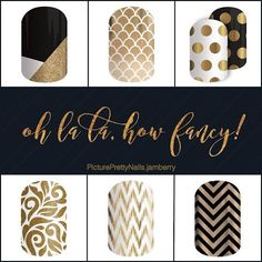For all those that love to dress up, Jamberry has some fun wraps to choose from.  ~Picture Pretty Nails~
