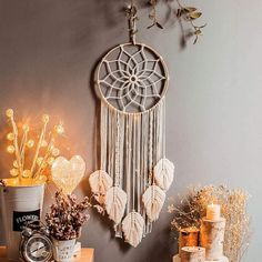 Macrame Wall Hanging Diy, Handmade Wall Hanging, Tapestry Wall Hanging, Boho Tapestry, Wall Hangings, Wall Hanging Crafts, Hanging Decorations, Tapestry Design, House Decorations