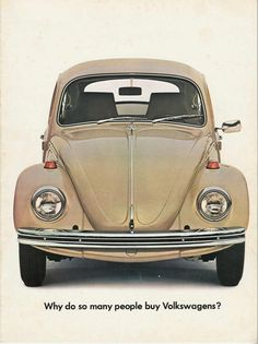 original brochure cover 1969 - I want one of these! (The car not the brochure!)