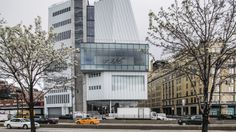 New York's newest chic tourist attraction: The new Whitney Museum of American Art is now located in the gentrifying meatpacking district along the Hudson River.