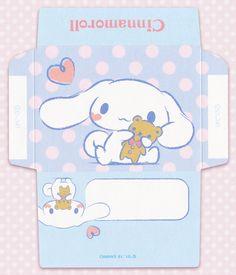 Kawaii envelope - Cinnamoroll - Sanrio