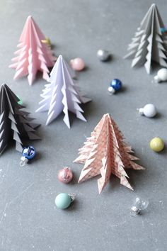 Origami Christmas tree.                                                                                                                                                                                 More