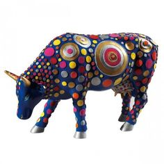 Réplica de la vaca de la CowParade Cowpernicus / CowParade Replic Original