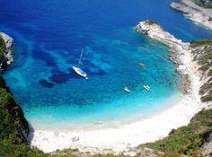 Ganema Beach in Serifos island - Greece Santorini Greece, Mykonos, Greek Isles, Greece Travel, Greece Vacation, Greece Islands, Island Beach, Dream Vacations, Beautiful Beaches