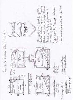 Nightgown Pattern, Bra Pattern, Skirt Patterns Sewing, Clothing Patterns, Fashion Sewing, Diy Fashion, Diy Clothes Design, Velvet Dress Designs, Sewing Lingerie
