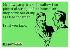 my new party trick!