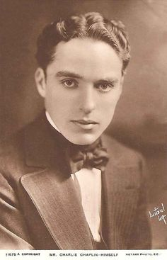 Did anyone else realize that Charlie Chaplin was so handsome?