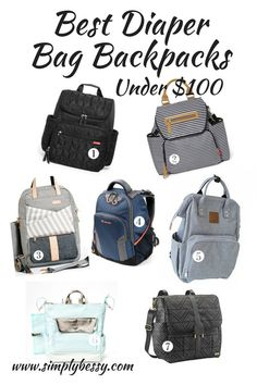 Best Diaper Bag Backpacks Simply Bessy Affordable Diaper Bag Backpacks - Diaper Bags - Ideas of Diaper Bags Best Backpack Diaper Bag, Boy Diaper Bags, Backpack Bags, Trendy Diaper Bags, Name Brand Diaper Bags, Cool Backpacks, Backpacker, Miami, Being A Mom
