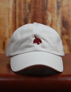 Whether it's a bad hair day or you need to protect that pretty little face of yours.... this Texas State cap is perfect! Show your school spirit! GO BOBCATS!