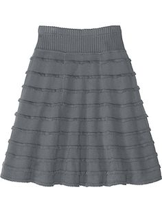 Ruffle Sweater Skirt, bummed this is sold out... I should make this