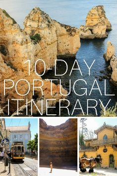 "This is a great start for what to see in Portugal but they forgot the cork trees! ""Beaches, Cities, Palaces – A Portugal Itinerary"" Road Trip Portugal, Portugal Vacation, Portugal Travel Guide, Best Places In Portugal, Europe Travel Tips, European Travel, Places To Travel, Travel Destinations, Asia Travel"