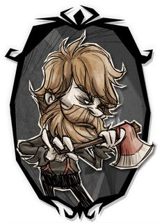 Don't Starve Together - Woodie Shadow Skin Art
