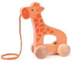 Hape Toys Push and Pull Giraffe