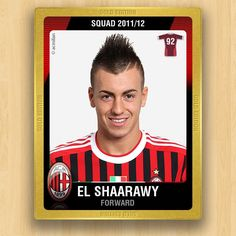 A.C. Milan Collections - El Shaarawy Stephan