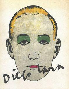 Diego Lara (1946-1999) fue uno de mis diseñadores gráficos preferidos en los 80-90.