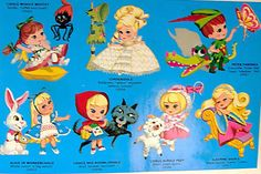 The Liddle Kiddles.  I used to think abnormally large heads were cool.