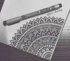 Doodle art – Drawings – Mandala drawing – Art drawings – Zentangle art – Doodle drawings – 40 – Art World 20 Mandala Doodle, Doodle Art Drawing, Zentangle Drawings, Art Drawings Sketches, Zentangle Patterns, Drawing Ideas, Mandala Sketch, Mandala Tattoo, Zentangle Art Ideas