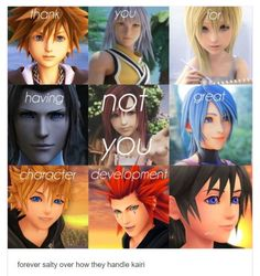 Kingdom Hearts 3, Kingdom Hearts Quotes, Sora Kh3, Video Game Memes, Gaming Memes, Final Fantasy, Picture Quotes, Troll, Destiny