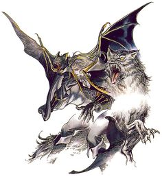 Alucard Bat Form & Wolf Form from Castlevania: Symphony of the Night