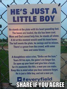 He's Just A Little Boy. #Poem #SummerLeague